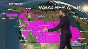 Edmonton weather forecast: Monday, February 8, 2021 (02:58)