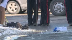 Pedestrian killed in downtown Calgary
