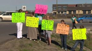 Winkler residents step up demands for stronger safety measures at school crosswalk
