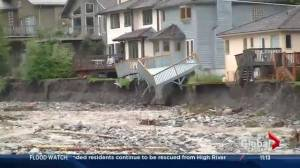 Canmore flooding update