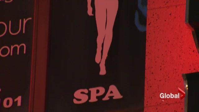 Is sex in massage parlours legal