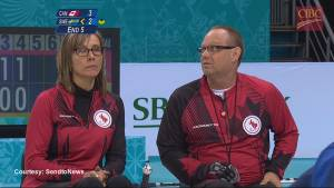 Canada Paralympic curlers stay perfect