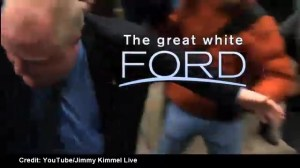 Jimmy Kimmel spoofs a Rob Ford nature series