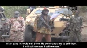 Boko Haram leader vows to sell kidnapped girls