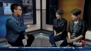 Interview with rock group Tegan and Sara
