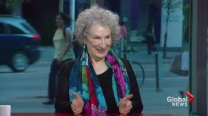 Canadian literary icon Margaret Atwood
