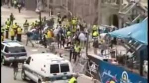 On scene: Explosions at the Boston Marathon