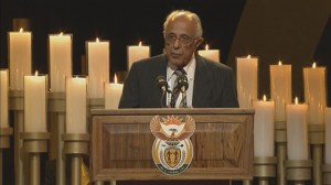 Fellow Robben Island prisoner pays emotional tribute