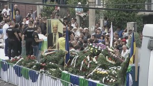 "Funeral for Romania's ""King of the Gypsies"" Florin Cioaba"