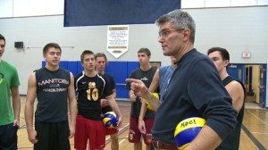Coach inspires team on and off the court