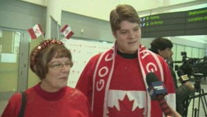 Natalie Spooner's family on watching her win Olympic gold