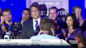 Decision Calgary: Nenshi still mayor