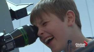 Nova Scotia boy may have discovered supernova