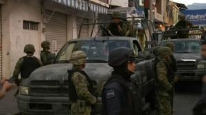 Raw video: Aftermath of violence between cartel, vigilante gang in western Mexico
