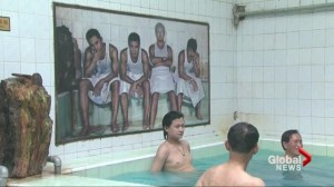 Beijing's last bath house