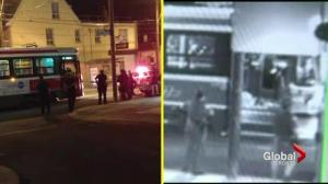 Streetcar shooting security camera footage analysis