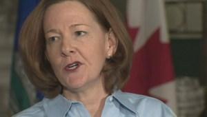 Premier Alison Redford resigns