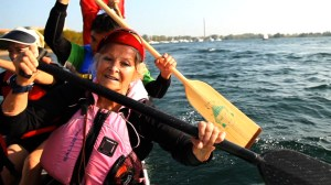 Dragon Boating: Easy for great grandmother