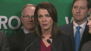 Danielle Smith reacts to Alison Redford's resignation