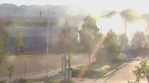 Paul Walker's crash caught on security camera