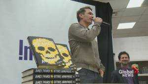 James Franco in Montreal