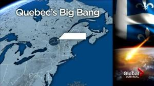 Meteorite stikes Montreal