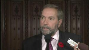 Mulcair: PQ's values charter 'doesn't reflect who Quebecers are'