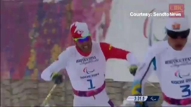 Para athlete from Russia Rumyantseva wins gold in biathlon at 2018 Paralympics
