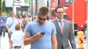 Sorry, but Canadians are losing their reputation as polite  – thanks to the cell phone.