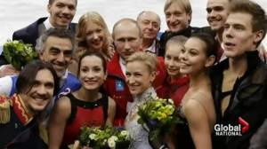 Russia and Putin bask in Olympic success