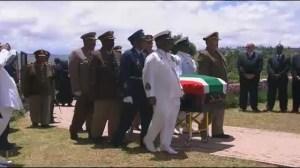 Aftermath of Mandela's funeral in childhood village