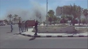 Raw video: car bomb explodes in southern Sinai, Egypt