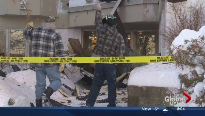 Blizzard Winds Rip Roof Tiles Off Halifax Apartment