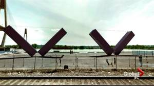 New West container sculpture gets locals talking