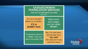 The Saskatchewan translator