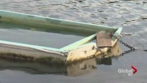 Coastal communities tackle derelict boat problem