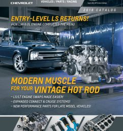 2018 chevrolet performance portfolio features industry s largest o e m crate engine lineup [ 2550 x 3263 Pixel ]