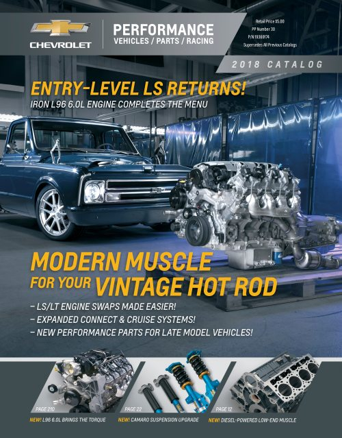 small resolution of 2018 chevrolet performance portfolio features industry s largest o e m crate engine lineup