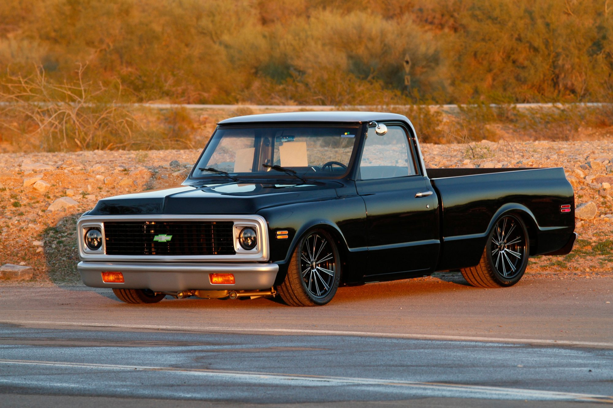 hight resolution of this 1971 chevrolet c 10 custom pickup lovingly called adel by its previous owners sold for 110 000 in scottsdale arizona in 2014