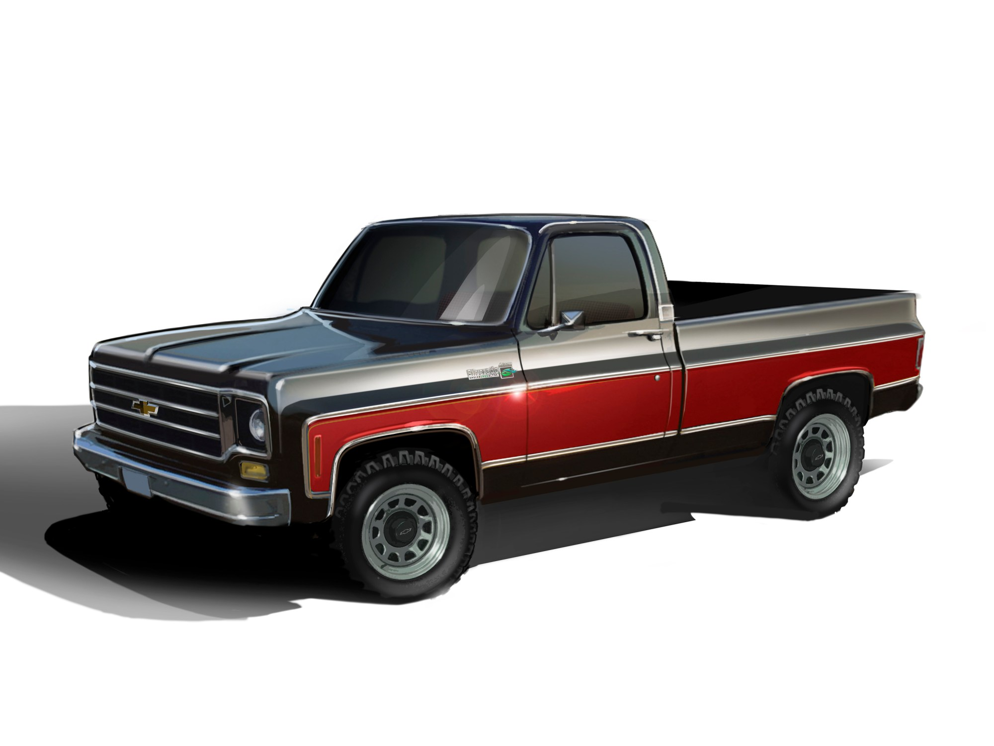 hight resolution of e rod powered 1978 chevy 4x4 combines classic style with modern performance and emissions compliance