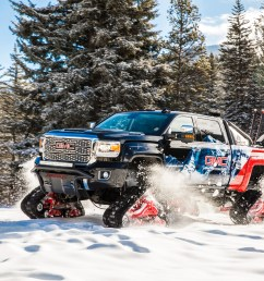 gmc sierra all mountain concept conquers uncharted territory at vail mountain [ 3900 x 2600 Pixel ]