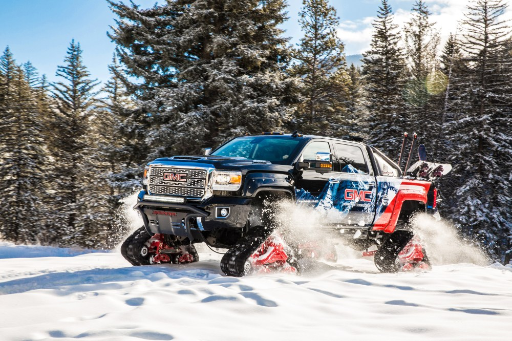 medium resolution of gmc sierra all mountain concept conquers uncharted territory at vail mountain