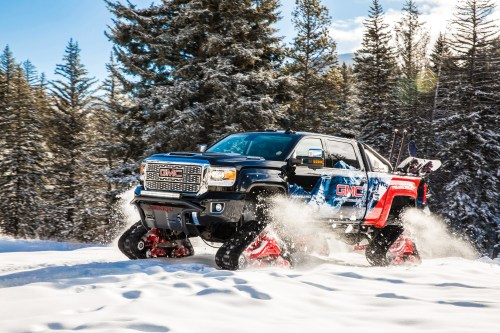 small resolution of gmc sierra all mountain concept conquers uncharted territory at vail mountain