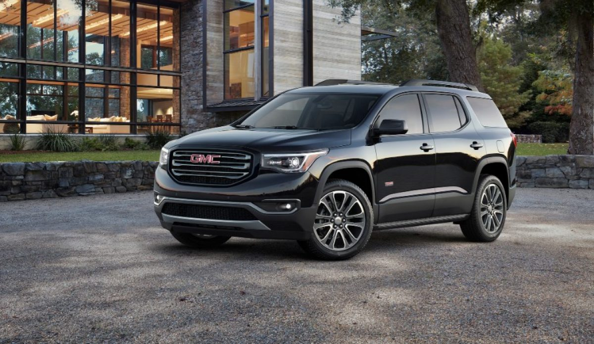 Suv With Captain Chairs 2019 Acadia Mid Size Suv Gmc 2019 Acadia Denali Mid Size
