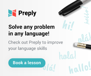Preply is where you can find freelancers who can teach you a new language