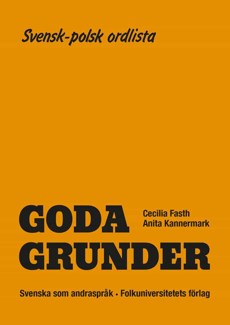 Goda Grunder svensk-polsk ordlista