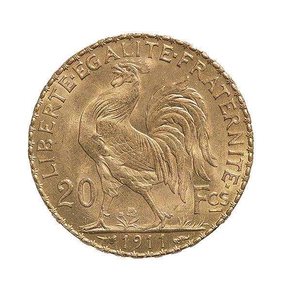 napoleon 20 frs louis d or