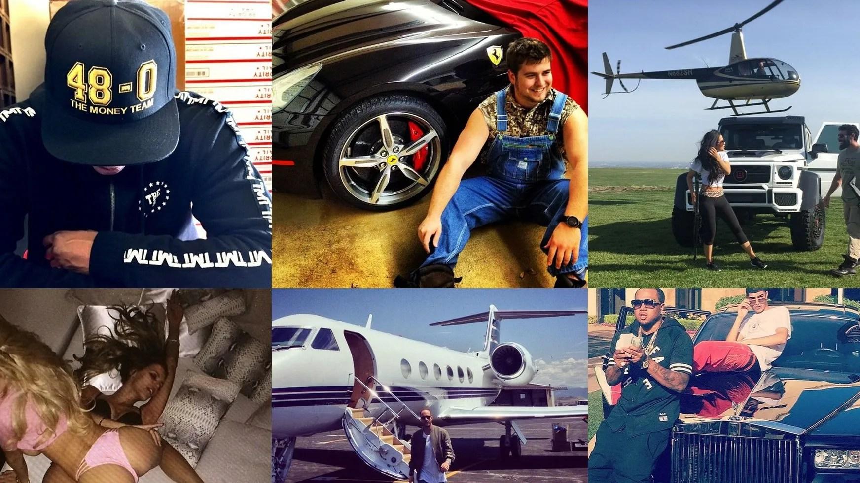 Car Money Watch Wallpaper These Are The Richest Men Of Instagram British Gq