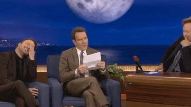Bryan Cranston Reads His Favorite Erotic Fan Letter Gq