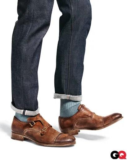 Double Monk Strap Jeans